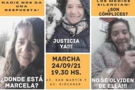 Marcha por Marcela López