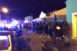62 Personas demoradas en fiesta clandestina