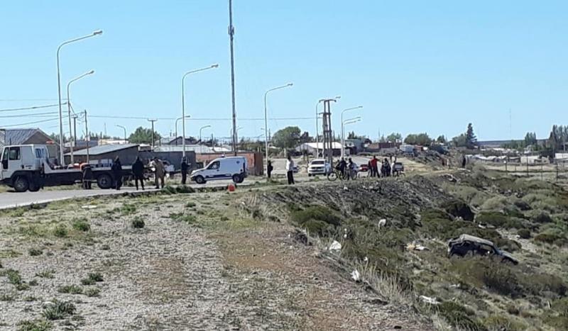 It happened in Puerto San Julián.  (UVC)
