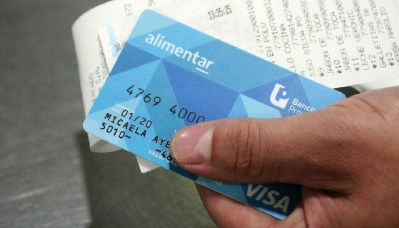 This Friday the credit of the Alimentar Card will be activated.