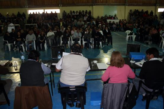 Empleados municipales le dijeron que no a la propuesta de Cotillo