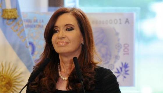Presidente Cristina Fernández.