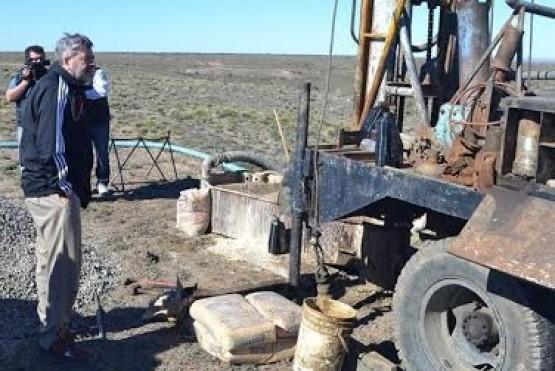 Inician perforación de pozos de agua