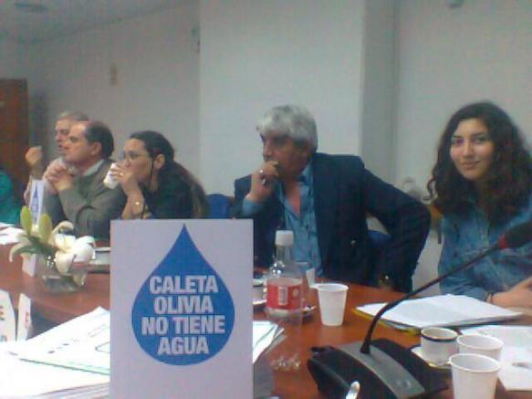 Audiencia Pública realizada ayer en el Congreso de la Nación.