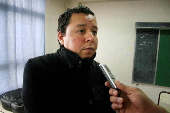 """Gustavo Llanos, presidente Comisión """"Septiembre Rock"""" (archivo TiempoSur)"""