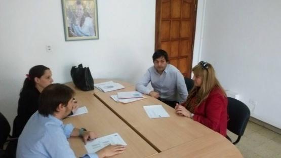 Urricelqui se reunió con funcionarios del ASIP