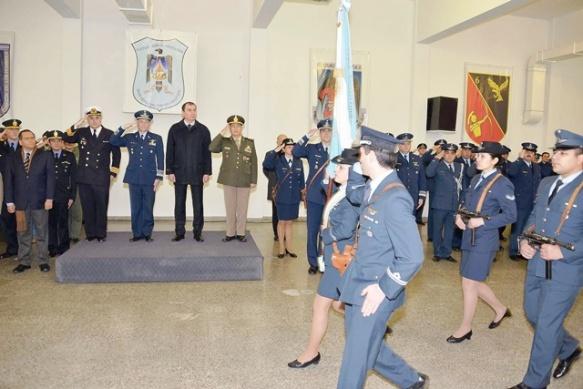 El acto de celebración se realizó en la Base Aérea Militar.