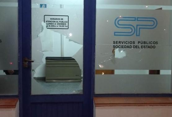 Actos vandálicos en Servicios Públicos