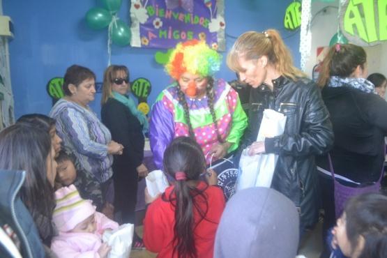 Cientos de chicos compartieron el día del niño