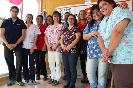 Se realizó 1° colecta de donación de sangre